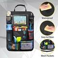 Органайзер на заднее сиденье автомобиля  дорожная сумка для хранения  органайзер для iPad с карманом  9 карманов для хранения для детей ясельн...