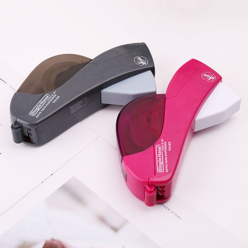 Automatic Tape Dispenser Hand-held One Press Cutter For Gift Wrapping Scrap Booking Book CoverWholesale Dropshipping