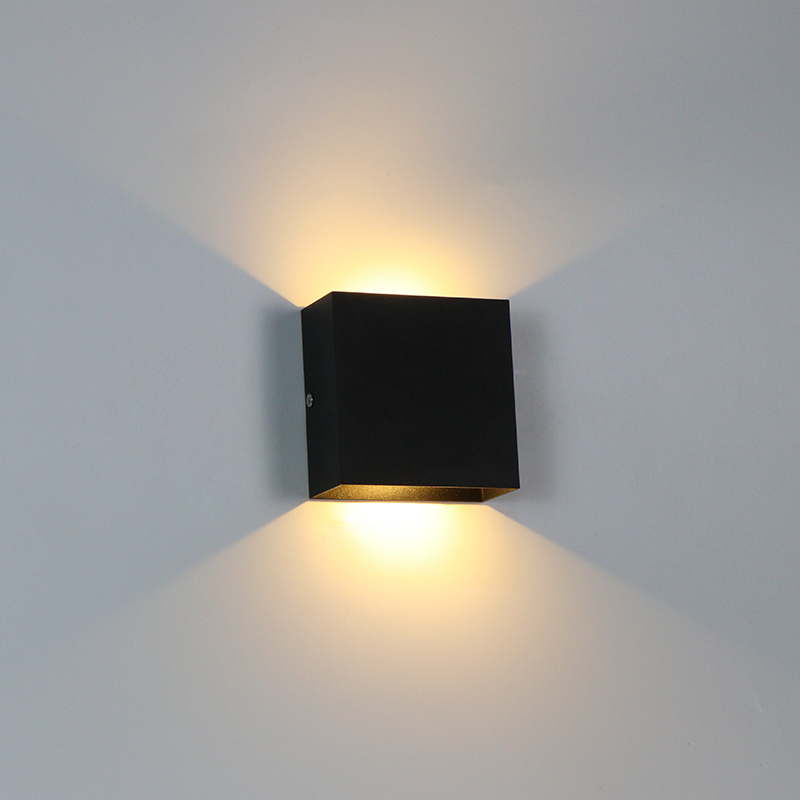 Indoor Wall Lamp 6W/10W LED Dimmable Wall Light Aisle Stair Decorate Lighting Fixture Bedroom Bedside Lamp Aluminium AC110V/220V