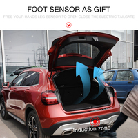 Car electric tailgate for Mercedes Benz GLA intelligent remote control double pole electric tailgate automatic lifting rear door