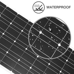 Image 4 - Dokio 18V 100W Flexible Solar Panels China Waterproof Solar Panels 12V Charger Solar Cell Sets For Home/Car/Camping/Boat panel