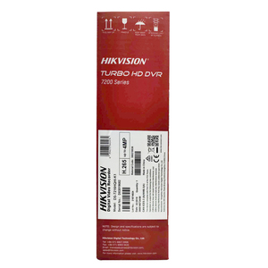 Image 4 - Hikvision 16CH מקסימום תמיכה 6MP טורבו HD DVR וידאו Recoder 5 ב 1 עבור HDTVI/AHD/CVI/ CVBS/IP וידאו קלט H.265 פרו + DS 7216HQHI K1