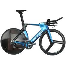 Oem пользовательские Хамелеон краска время пробный полный велосипед FM-TT01 с SHIMAN0 R8060 groupset