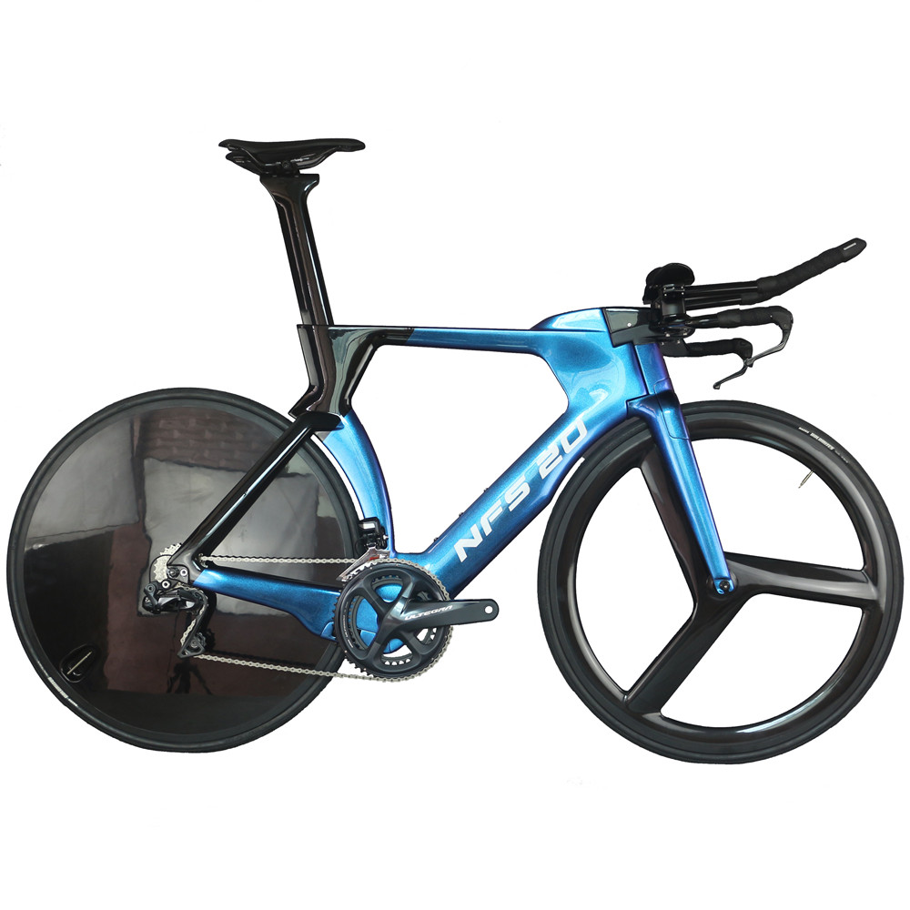 Oem Custom Chameleon Paint Time Trial Complete Bike FM-TT01 With SHIMAN0 R8060 Groupset
