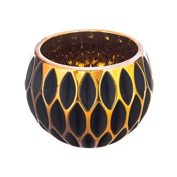 Dorado grande vela nórdicos de soporte para velas de cerámica ligero modelo de Casa de candelabro de Bougeoir decoración CC50