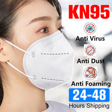 Masks Disposable KN95 Mask Dust Protective Mask Safety Masks 99% Filtration Dust Particulate Pollution Flu Protection Fast Ship(China)