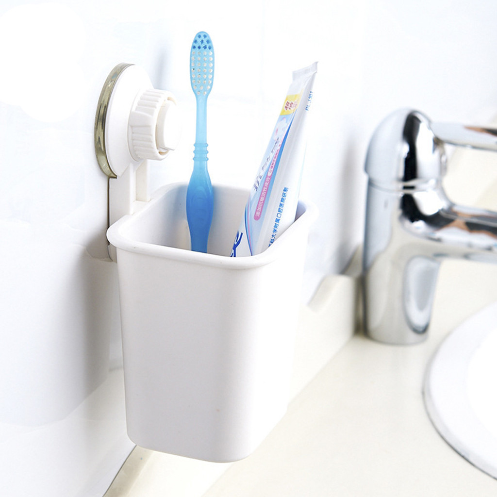 Eco Friendly Toothbrush Holder Bathroom Organizer Made Of Quality Material For Bathroom Accessories 3