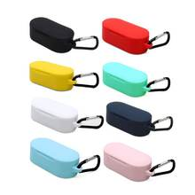 Портативный мягкий силиконовый чехол для наушников защитный