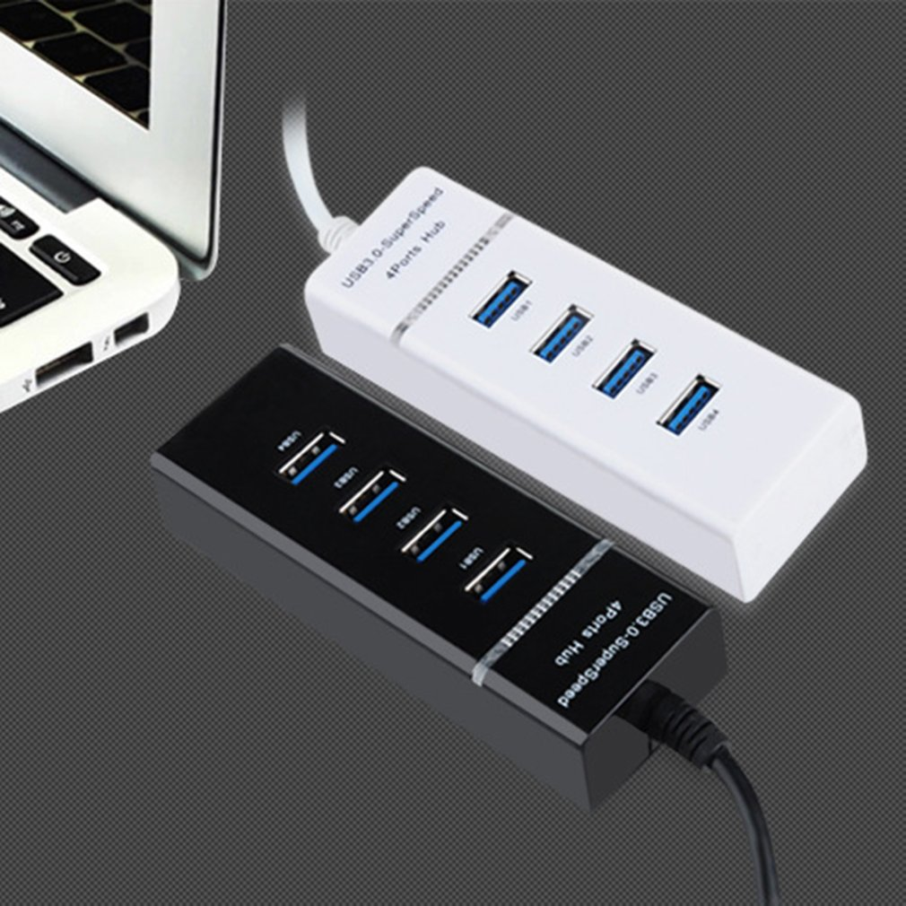 USB 3.0 концентратор USB разветвитель многофункциональный концентратор USB 3.0 несколько 4-портовый разветвитель концентратор использовать адаптер питания компьютер-концентратор аксессуары для ПК --