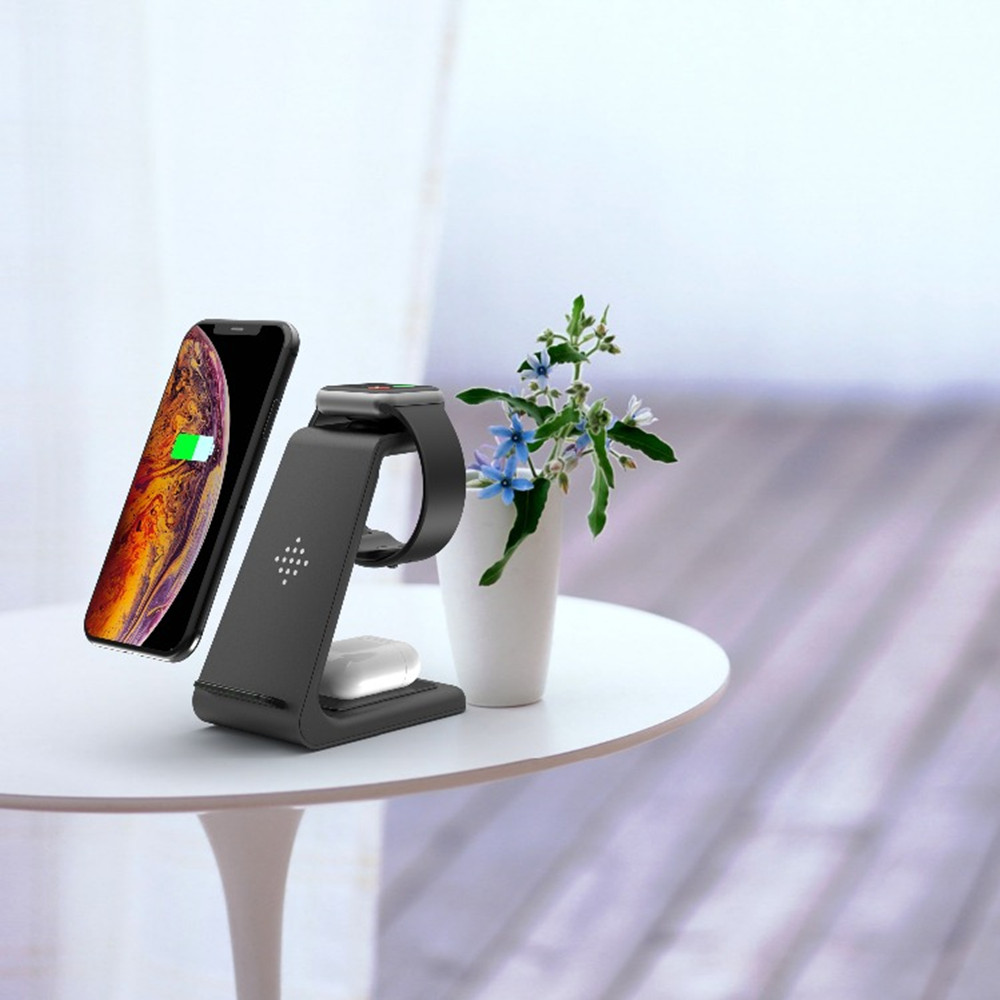 3 in 1 Wireless Charger 10W Fast Charging Station NEW ARRIVALS