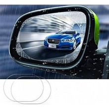 Car Exterior Side Mirror Rain Slider Mist Film 2 Pcs