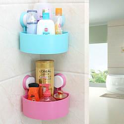 Поставка угловая полка для хранения Туалетная присоска угловая полка для ванной кухни треугольная полка для хранения присоска