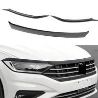 Car grille trim strip Front Bumper Grills Hood trim lamp brow trim For Volkswagen VW Jetta MK7 2019 2020 Car Accessories