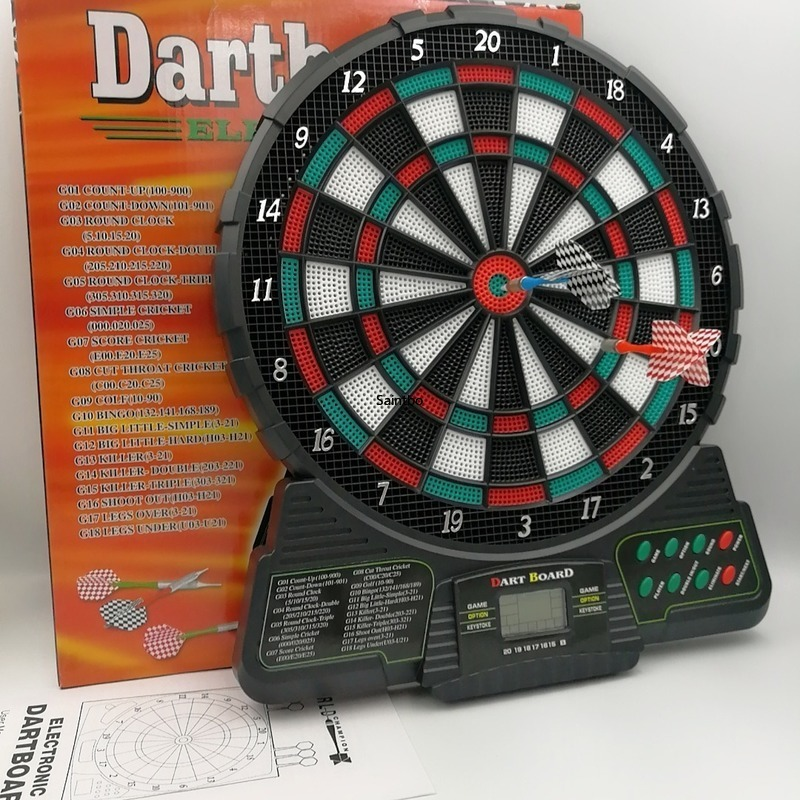 Score automatique fléchettes électroniques disque cible sécurité et loisirs 18 Types de jeux 159 Types de jeu fléchettes à pointe souple