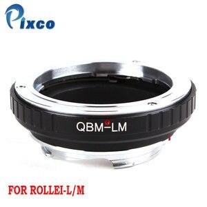 Image 1 - Pixco QBM L/M Lens Adapter Suit For Rollei QBM Lens to Leica M Camer