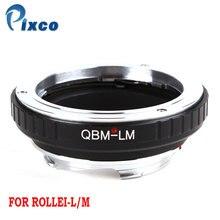 Pixco QBM L/M レンズ用ローライ QBM レンズライカ M カマー