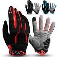 Volle Finger Racing Motorrad Radfahren Handschuhe Fahrrad MTB Bike Touchscreen Handschuhe für Outdoor Reiten/Angeln/Wandern/Skifahren /laufen