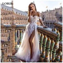 Lorie пляжные свадебные платья 2020 сексуальные с открытыми