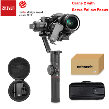 Zhiyun Crane 2 3-Axis Camera Stabilizer with Servo Follow Focus for All Models of DSLR Mirrorless Camera Canon 5D2/5D3/5D4