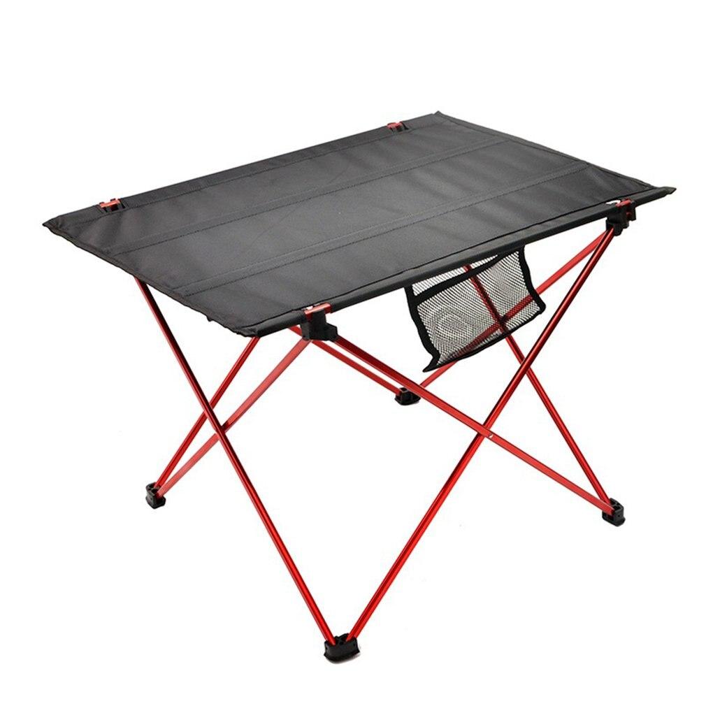 Tragbare Falten Aluminium Roll Up Tisch Leichte Outdoor Camping Picknick Ultra Licht Möbel Camping Tisch Tee Tisch auf title=