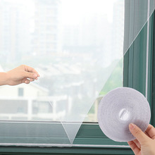 3 Pack Window Insect Screen Mesh Fly Bug Mosquito Net Protector Window Insect Screens With Self-Adhesive Tape Dropshipping 150cmx130cm fly mosquito window net mesh screen indoor insect fly screen curtain mesh bug mosquito net easy to fit with tape y20