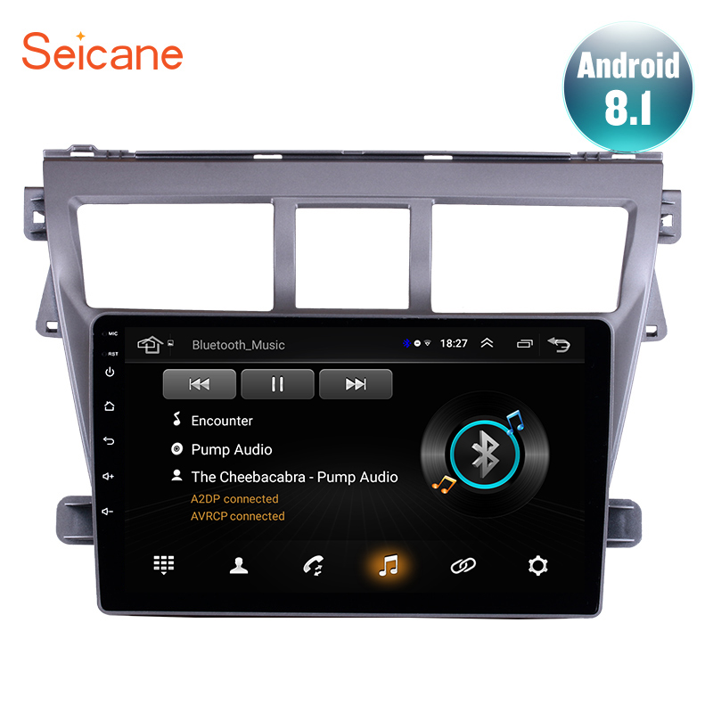 Seicane GPS Auto Stereo 9 Car Radio For 2007 2008 2009 2010 2011 2012 Toyota VIOS