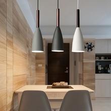 Hanging Lamps Room-Lights Minimalist-Pendant-Lights Kitchen Island Dining-Table E27 Modern