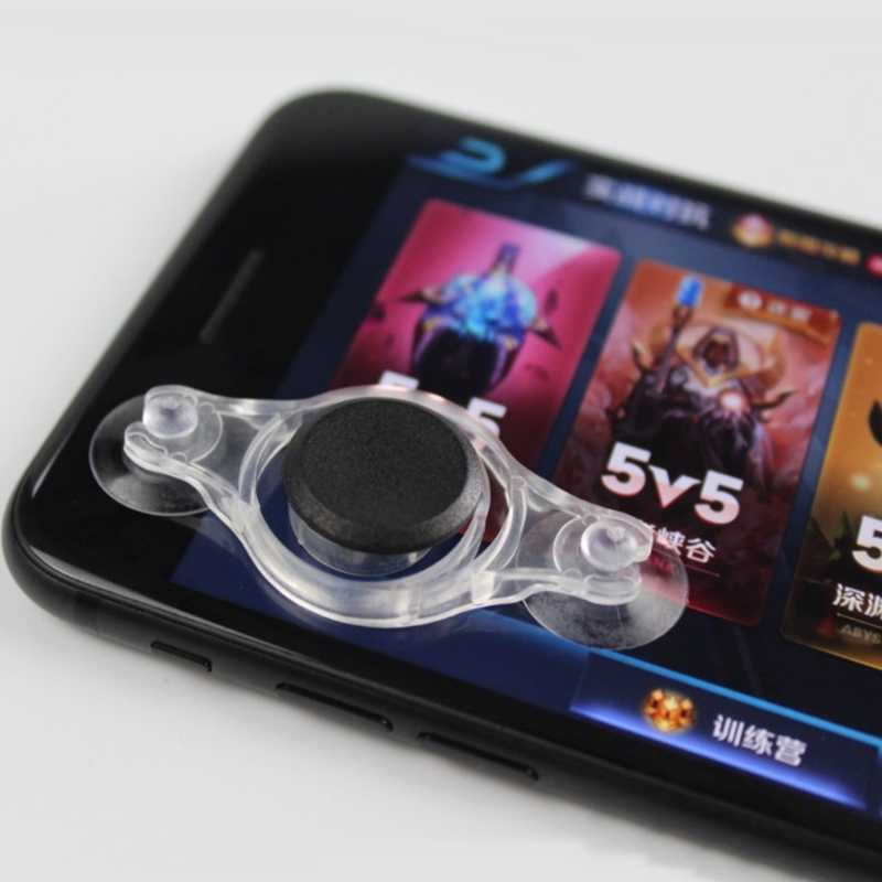 Juego Joystick móvil Rocker para Iphone Android Tablet Metal botón controlador para PUBG controlador con ventosa