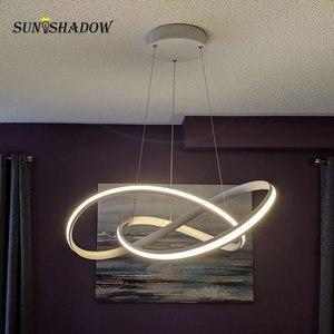 Image 3 - โมเดิร์นโคมไฟระย้า LED สำหรับห้องนั่งเล่นห้องนอนห้องนอนโคมไฟพื้นผิว LED โคมระย้าโคมไฟแขวนโคมไฟ