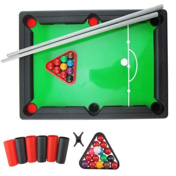 Board Games For Children Mini Billiards Snooker Toy Set Home Party Games Kids Boys Parent Child Interaction Game Education Toy цена 2017