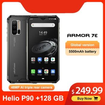 Перейти на Алиэкспресс и купить Ulefone Armor 7E смартфон с 6,3-дюймовым дисплеем, восьмиядерным процессором Helio P90, ОЗУ 4 Гб, ПЗУ 128 ГБ, 5500 мАч