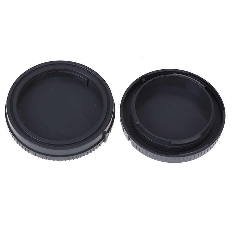 Capuchon d'objectif arrière de caméra + Kit de couverture avant de corps pour Sony E Mount NEX Nex-3 NEX-5/6/7 A7 A7r A7s A3000 A5000 a5100 A6000 a6300 a6500
