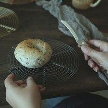 Radiator Rack Table Mat Bracket Heat Insulation Pot Pad Cake Cookies Baking Iron Silver Gray Food Photography Props