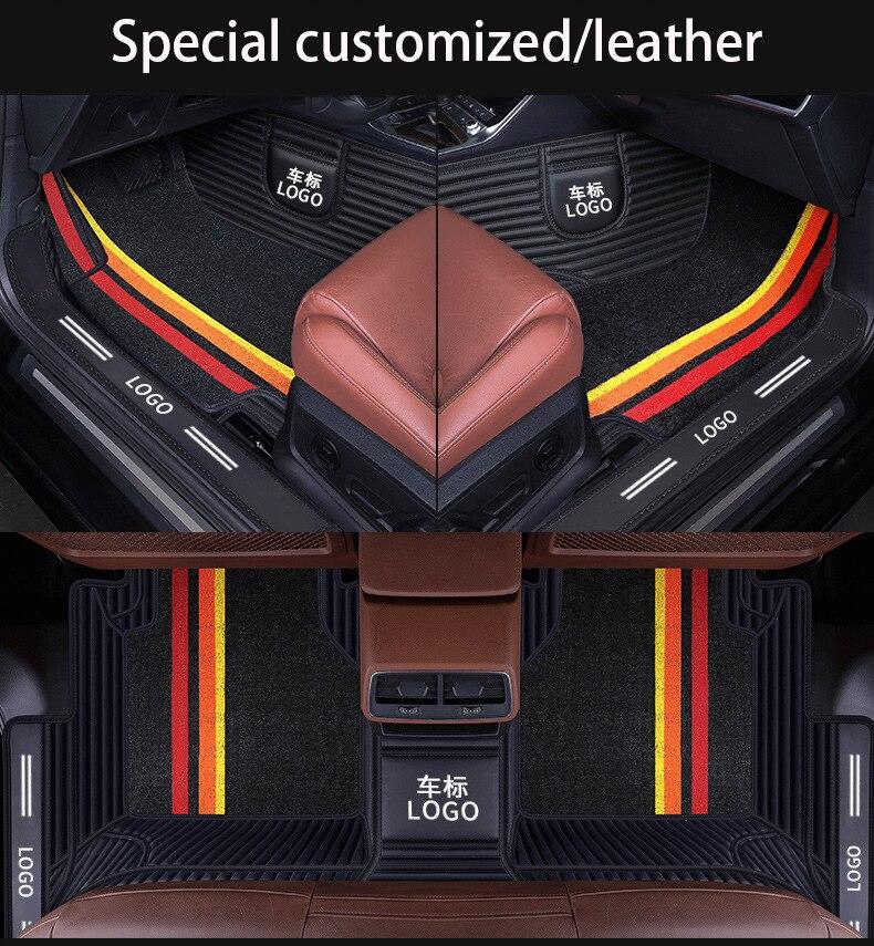 Автомобильные аксессуары подходят для новых BMW e60 x5 e70 e36 e46 e39 f31 специальный коврик для пола коврик