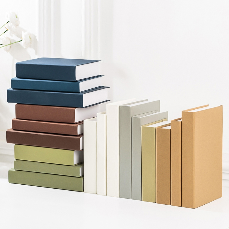 Imitation Book Of Solid Color Fake Book Decoration For Display Hall Model Props Case Office Ornaments Coffee Shop Bar Decor Book