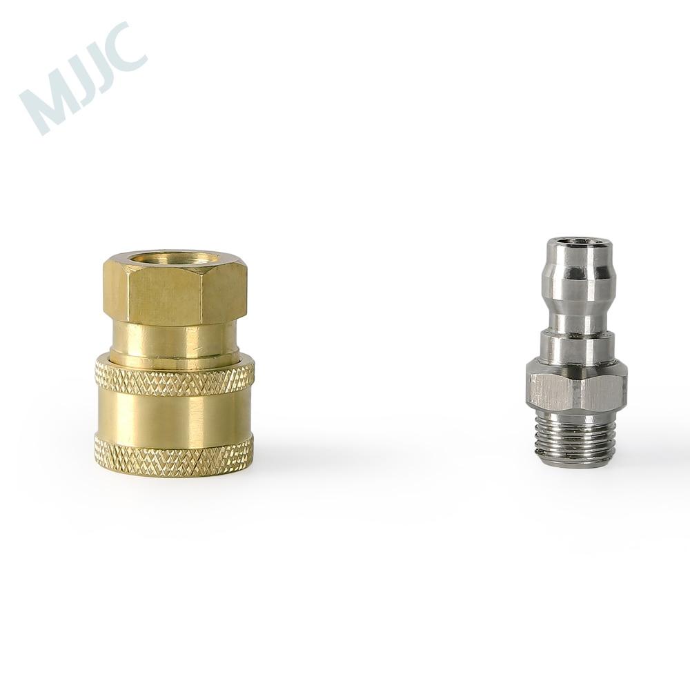 MJJC-connecteur rapide de 1/4 pouces   Adaptateur de haute qualité et de quart de pouce, pièce féminine pour lance-mousse
