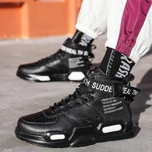 Big Size High Top masywne buty sportowe do biegania męskie buty sportowe do biegania damskie buty sportowe męskie czarne buty do biegania Sneakrs Jogging A-674 tanie tanio hundunsnake Unisex CN (pochodzenie) LIFESTYLE Zapewniające stabilność Na twardy kort Początkujący oddychająca Zwiększające wysokość