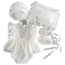 Для новорожденных Фото Костюм для съемок верхняя одежда 5 шт/компл