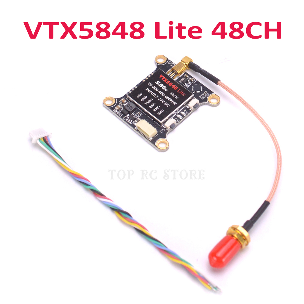 [QNCB_7524]  VTX5848 LITE 48CH 5.8G 25/100/200/400/600mW Switchable VTX Video Transmitter  Module OSD Control for FPV RC Racing Drone Parts & Accessories  - AliExpress   Fpv Wiring Diagram For 600mw 5 8 Transmitter      www.aliexpress.com