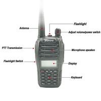 baofeng uv 2pcs Baofeng UV-B6 מכשיר הקשר 5W Samll גודל רדיו Ham Comunicador נייד משדר שני הדרך רדיו UV B6 Woki טוקי רדיו FM (2)