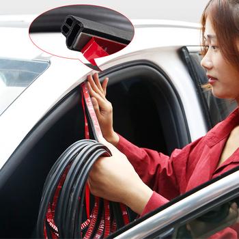 Uszczelka do drzwi typu Anti-collisionB izolacja akustyczna taśma uszczelniająca do drzwi samochodowych gumowa uszczelka do wykończenia z wycięciami izolacja akustyczna автотовары tanie i dobre opinie QCBXYYXH 1 3cm 2020 TY167-3 0 5cm rubber Stylizacja listwy 0 15kg