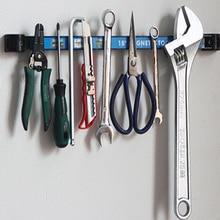18 Magnetic Tool Holder Rack Super Strong Metal Magnet Storage Organizer Bar for Garage Workshop