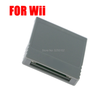 1pc For Wii NGC GameCube Game Console SD Memory Flash WISD Card Stick Adaptor Converter Adapter Card Reader