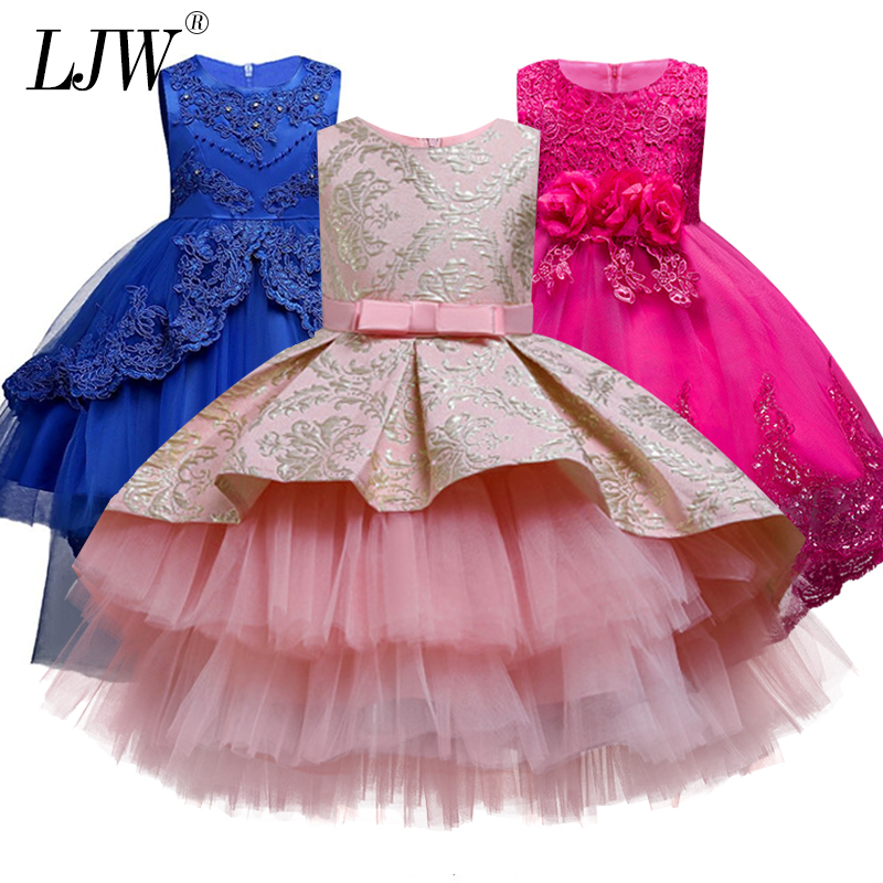 Flower Girl Princess Party Wedding Pageant Formal Tulle Tutu Dress for Kids Baby