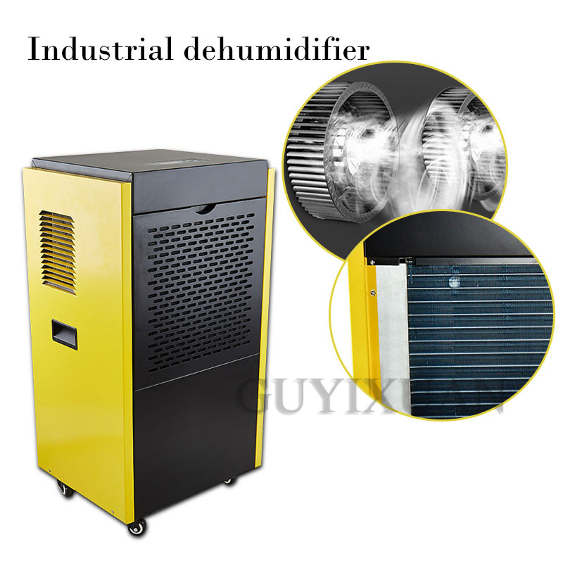 High-power Industrial Dehumidifier Warehouse Commercial Dehumidification Basement Dryer Home Garage Dehumidifier