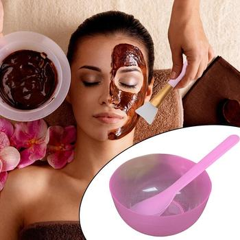 Diy Seaweed Mask Mold Blister Tray Pvc Sheet Capsule Film Homemade Stick Mixing Tool Bowl Diy Brush Plastic Tool Mask With K7P4 image