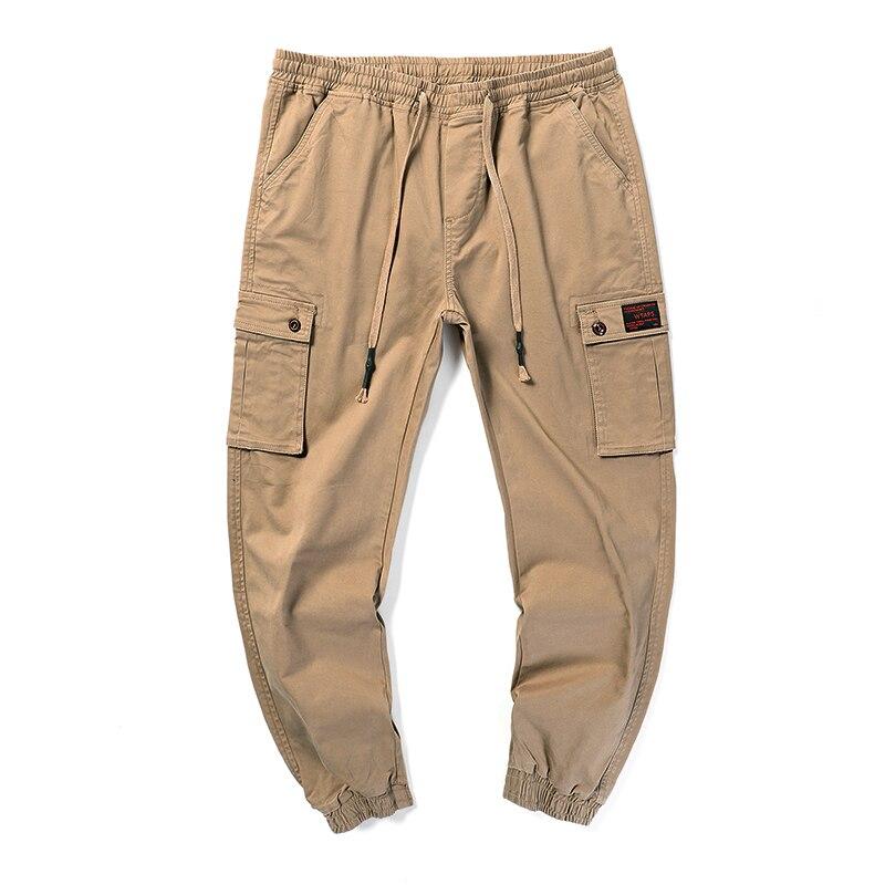 Мужские повседневные брюки карго размера плюс, 7XL 6XL 5XL 4XL, уличные Хлопковые Штаны для бега, 2019|Брюки-карго| | АлиЭкспресс