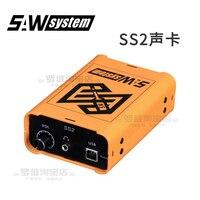 Специальная звуковая карта SS2 для измерения частоты отклика фазы реверберации времени задержки