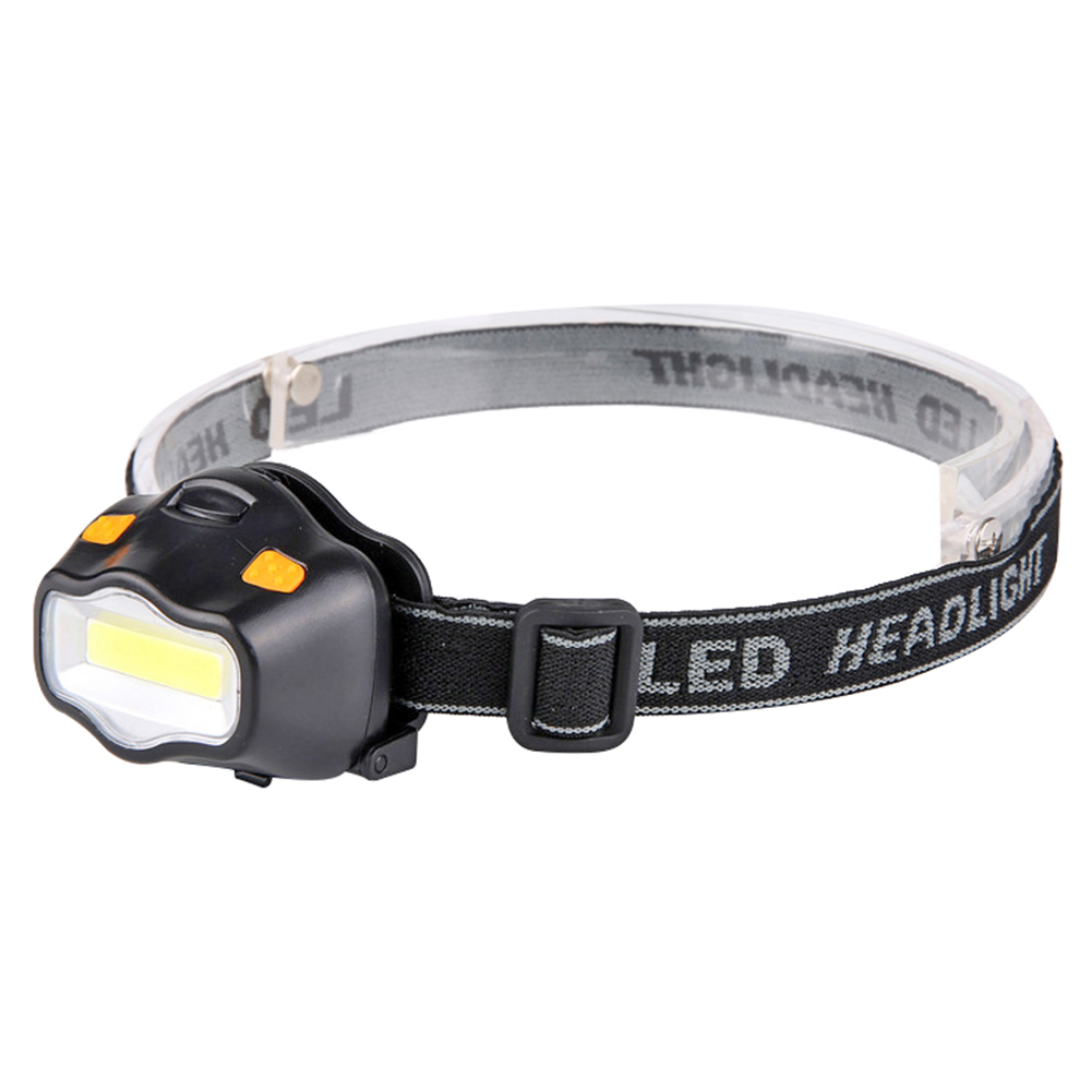 COB LED Headlamp Portable Flashlight 3W Outdoor Camping Headlight Emergency Lamp For Outdoor Camping Night Fishing