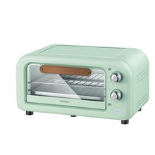 12L Household Electric Oven  Double Roasting Position Intelligent Baking Oven Transparent Mini Electric Oven